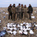 South Dakota Snow goose hunts