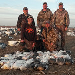 Spring Snow Goose Hunts 2014
