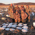 MI shooters with some lesser snow geese