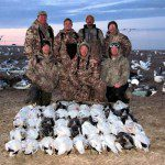 MI shooters on day 2 of their snow goose season