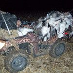 We use nothing but top notch equipment. All of my guides have ATV for hauling gear in and out of the field.