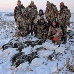 You can be successful hunting snow geese after the snow stops with the correct techniques and gear.