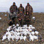 An above average Missouri snow goose hunt.