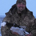 Hunter from California. They don't get many blue geese out there so they are always prized by the west coast hunters.